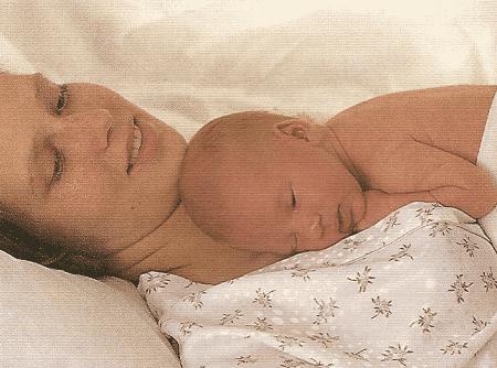 Die erste Woche mit Ihrem Baby im Krankenhaus oder Zuhause