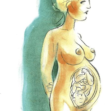 Schwangerschaft zehnter Monat, die längsten (37 bis 40 Wochen)