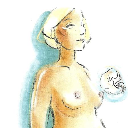 Schwangerschaft Zweiter Monat von der 5. bis zur 8. Woche